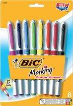 BIC® Mark-It Markers Ultra Fine Assorted 8 Pack
