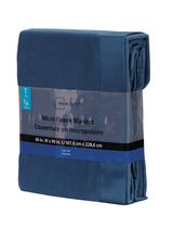 Mainstays Microfleece Blanket Blue