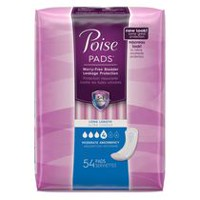 Poise® Moderate Absorbency Pads Long