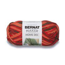 Bernat Maker Home Dec Yarn, Green Pea, 8.8oz(250g), Bulky, Cotton/Nylon