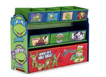 Teenage Mutant Ninja Turtles Deluxe Multi Bin Organizer