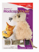 SmartyKat® MadcapMouse™ Refillable Catnip Toy