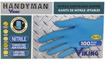 Handyman by Viking Nitrile Disposable Gloves