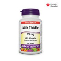 webber naturals Liver Health Milk Thistle - 240 Softgels