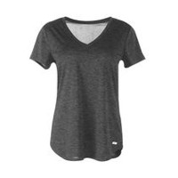 Athletic Works Women's Performance Tee Black Soot XXL