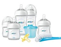 Philips Avent SCD296/02 BPA Free Natural Infant Starter Set
