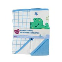 Parent's Choice Hooded Towels, Boys
