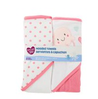 Parent's Choice Hooded Towels, Girls