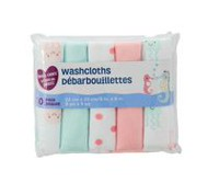 Parent's Choice Washcloths, Girls