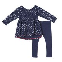 George Toddler Girls' 2-Piece Tunic & Leggings Set 2T
