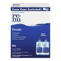 Bausch + Lomb Renu® FreshTM Multi-Purpose Contact Lens Solution Twin Pack - 710 mL