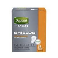 Depend Men Light Absorbency Shields