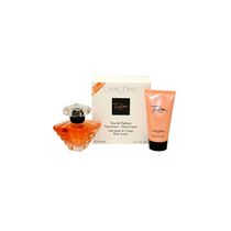 Lancome Tresor 50 ml Eau De Parfum Spray + 50 ml Body Lotion (Travel Set) -Set For Women