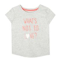 George Toddler Girls' Short Sleeved Graphic Tee 3T