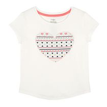 George Toddler Girls' Short Sleeved Tee 2T