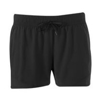 Athletic Works Women's Woven Performance Shorts Black Soot L