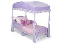 Delta Children Toddler Girls' Purple Bed Canopy