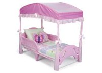 Decorative Canopy for Toddler Bed- Pink