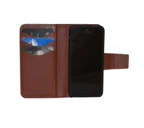 vetta Leather Folio case for iPhone 5/5s Brown