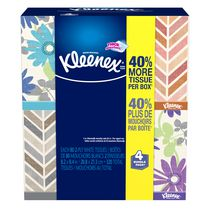 Kleenex® Everyday Tissues, Upright, 4x80 Count