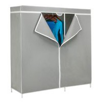 "Honey-Can-Do 60"" Steel Frame Wardrobe & Storage Closet"