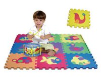 Edushape Puzzle Interlocking Foam Floor Tiles