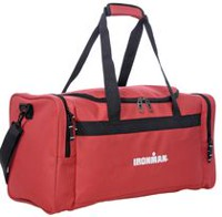 "Ironman 24"" Gym Duffle Bag Red"