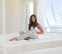 "Spa Sensations 6"" Memory Foam Mattress Full/Double"