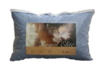 Royal Elite Coloured Feather Pillow Mink King