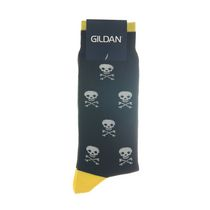 Gildan Men's Crew Socks Black #21
