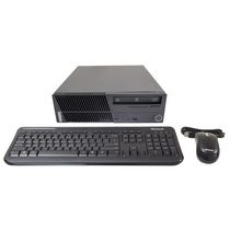Ordinateur de bureau ThinkCentre de Lenovo remis à neuf (Intel Core 2 Duo E7300), M70e. anglais,
