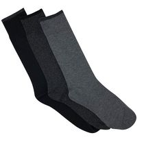 Gildan Men's Crew Socks, Pack of 3 Charcoal