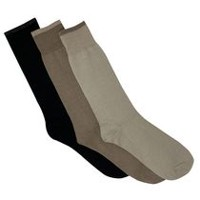 Gildan Men's Crew Socks, Pack of 3 Taupe