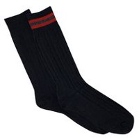 Gildan Men's Crew Socks, Pack of 2 Black
