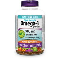 webber naturals Triple Strength Omega-3 - 120 Softgels