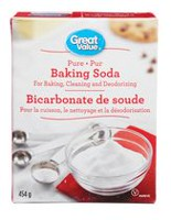 Bicarbonate de soude pur Great Value