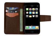 vetta Leather Folio case for iPhone 6/6s Brown