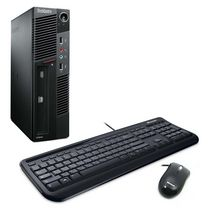 Lenovo Thinkcentre M91p Refurbished USFF Desktop with Intel Core i5-2400S 2.70GHz  Processor