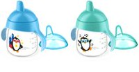 Philips Avent Premium Spout Penguin Cups Blue
