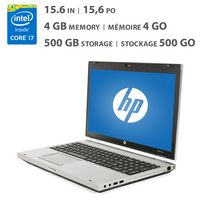 "HP Elitebook (8560P) 15.6"" Refurbished Laptop with Intel Core i7-2620M 2.7GHz Processor"