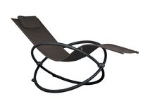 Chaise longue Orbital de Vivere - simple argent
