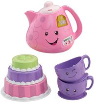 Fisher-Price Laugh and Learn Smart Stages Tea Set - English Edition