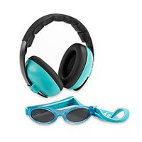 Banz Baby Mini Earmuffs Protection Set - Aqua - 3 Months+