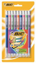 BIC Extra-Sparkle Mechanical Pencil, Medium Point (0.7mm), Assored Colorful Barrels, 24-Count, Great for Everyday Writing