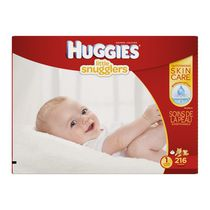 HUGGIES® Little Snugglers Diapers Economy Plus Size 1