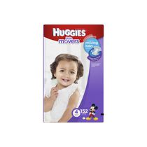 Couches Little Movers de HuggiesMD Taille 4
