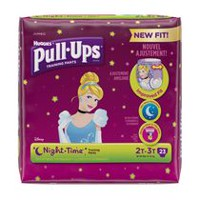 Sous-vêtements d'entraînement Pull-Ups®, Night*Time 2T-3T Fille