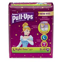 Pull-Ups® Training Pants, Night*Time 3T-4T Girls