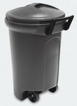United Comb & Novelty 32-Gal Rubbermaid Wheeled Trash Can