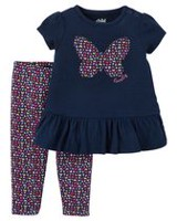 Child of Mine made by Carter's Newborn Girls' 2-piece Butterfly Set 18M